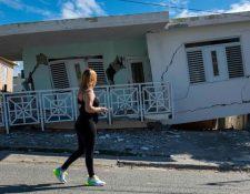 El temblor del lunes derrumbó casas en la región de Guánica, en el suroeste de la isla. GETTY