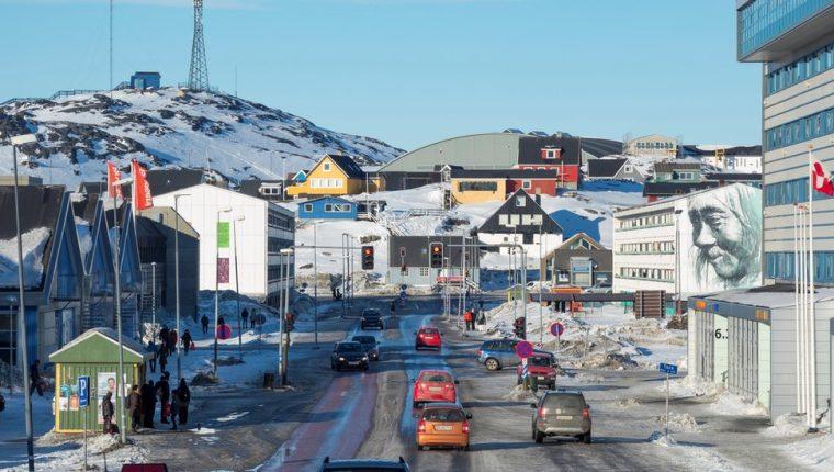 Un tercio de los habitantes de Groenlandia vive en la capital, Nuuk.
