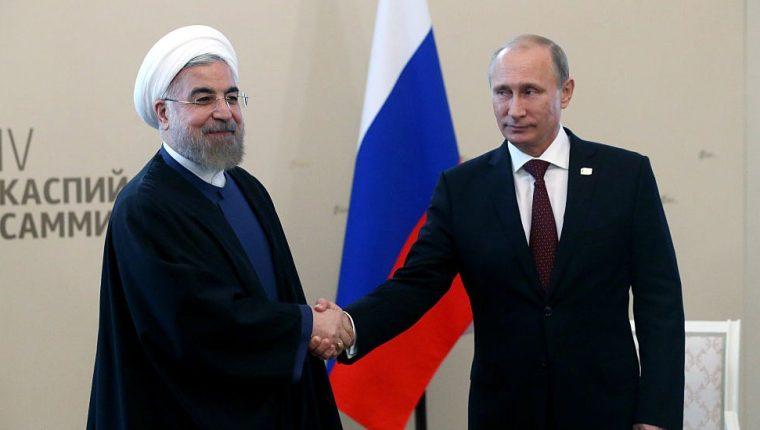 Tanto Hasan Rohani como Vladimir Putin buscan expandir sus esferas de influencia en Medio Oriente.