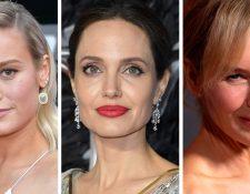 Brie Larson, Angelina Jolie y Renée Zellweger protagonizaron éxitos de taquilla el año pasado.