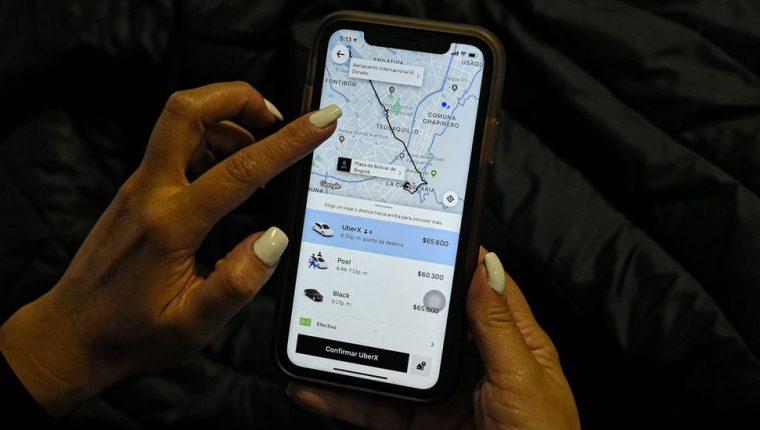 Desde el 31 de enero Uber ya no va a funcionar en Colombia. AFP