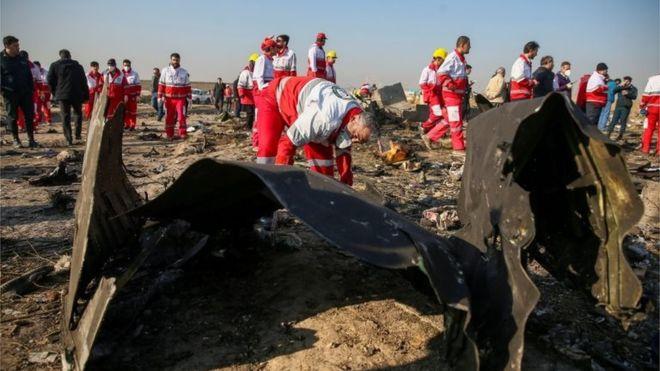 """Gobierno iraní admite que derribó el avión Boeing 737-800 de Ucrania """"por error"""""""