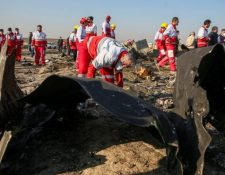 El avión de Ukraine International había despegado de Teherán con destino a Kiev cuando fue derribado. REUTERS