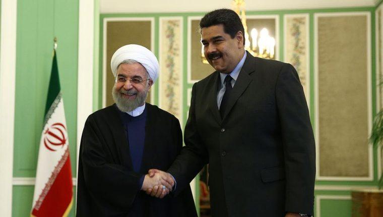 Hasan Rohani y Nicolás Maduro: los presidentes de Irán y Venezuela son aliados políticos.