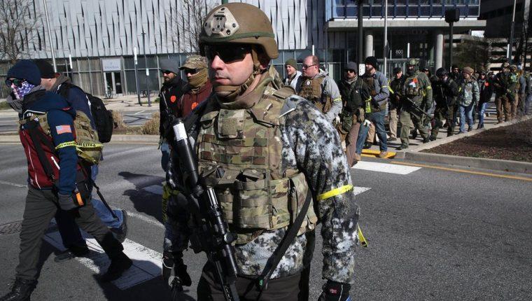 La protesta se hizo después de que el Congreso de Virginia propusiera leyes de restricción a portar armas. GETTY IMAGES