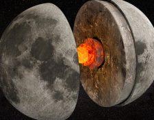 Hace miles de millones de años, el núcleo de la Luna funcionaba como un dínamo que generaba un campo magnético. GETTY