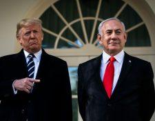 Trump presentó el plan junto a Netanyahu