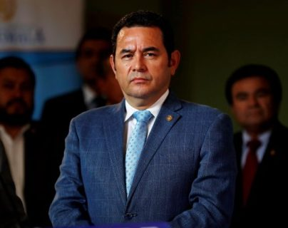 Jimmy Morales integrará el Parlacen para el periodo 2020 - 2024 y tendrá inmunidad. (Foto Prensa Libre: Hemeroteca PL)
