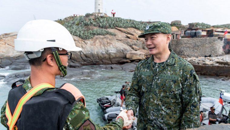 Una fotografía de archivo del Jefe del Estado Mayor de Taiwán, Shen Yiming. (Foto Prensa Libre: EFE)