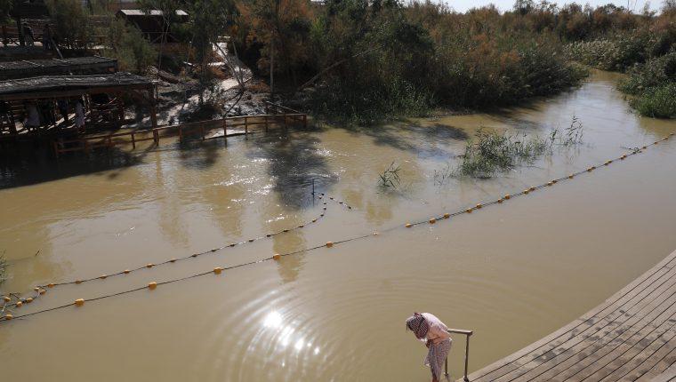 Tierra Santa Qasr al-Yahud baptism site in the Jordan River