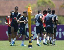 Jugadores de la selección brasileña Sub 23 no podrá estar completa en Tokio 2020. (Foto Prensa Libre: EFE)