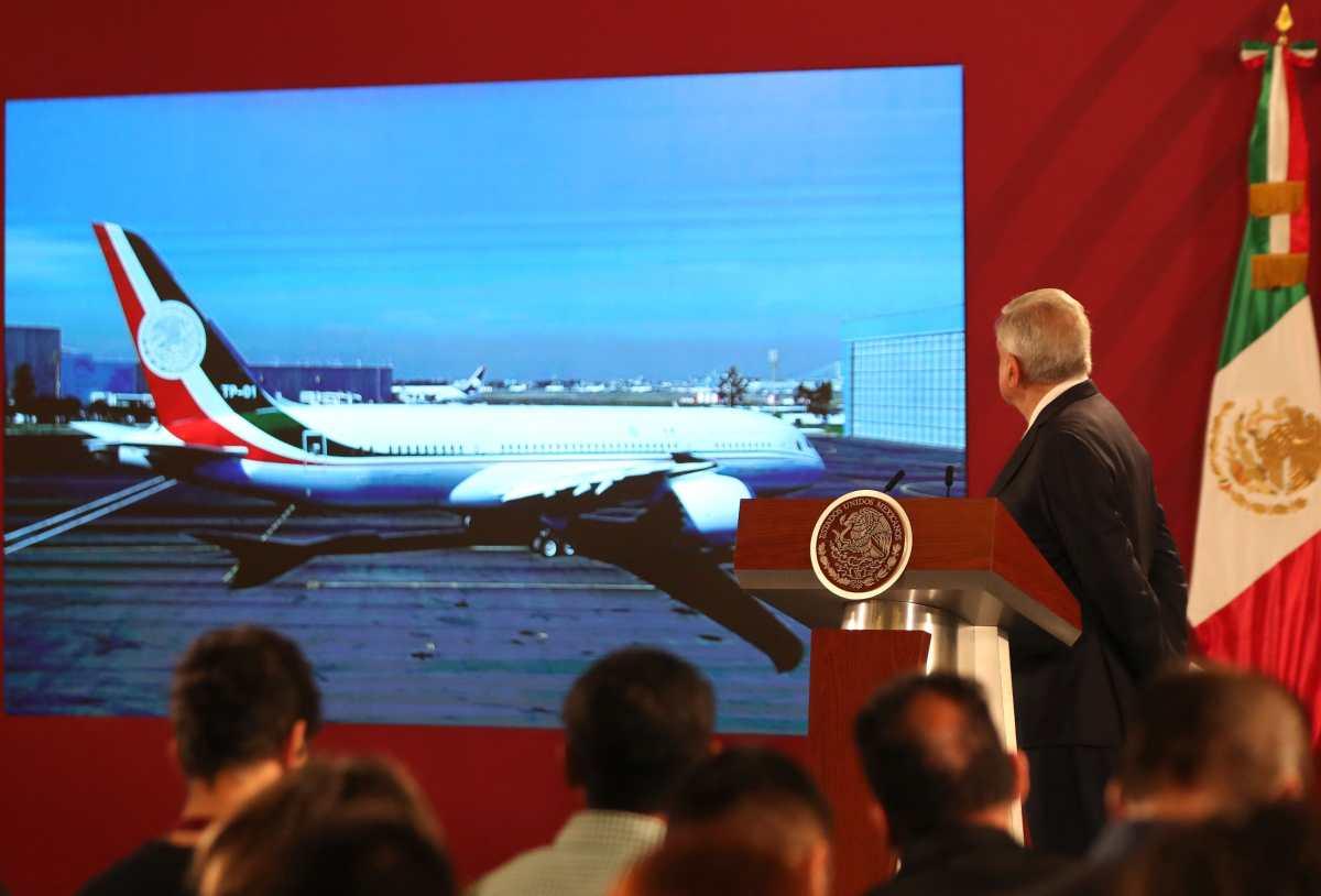 El avión presidencial que Manuel López Obrador quiere rifar en la Lotería Nacional