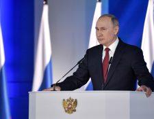Vladímir Putin promovió un plan de reformas constitucionales. (Foto Prensa Libre: EFE)