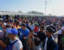 La migración es uno de los temas que más preocupa a Estados Unidos. (Foto Prensa Libre: Hemeroteca PL