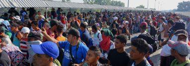 Los traficantes de personas son el origen de la mayoría de los indocumentados que llegan a EE. UU. (Foto Prensa Libre: Hemeroteca PL)