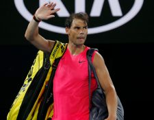 Rafael Nadal deberá despedirse del Abierto de Australia. (Foto Prensa Libre: EFE)