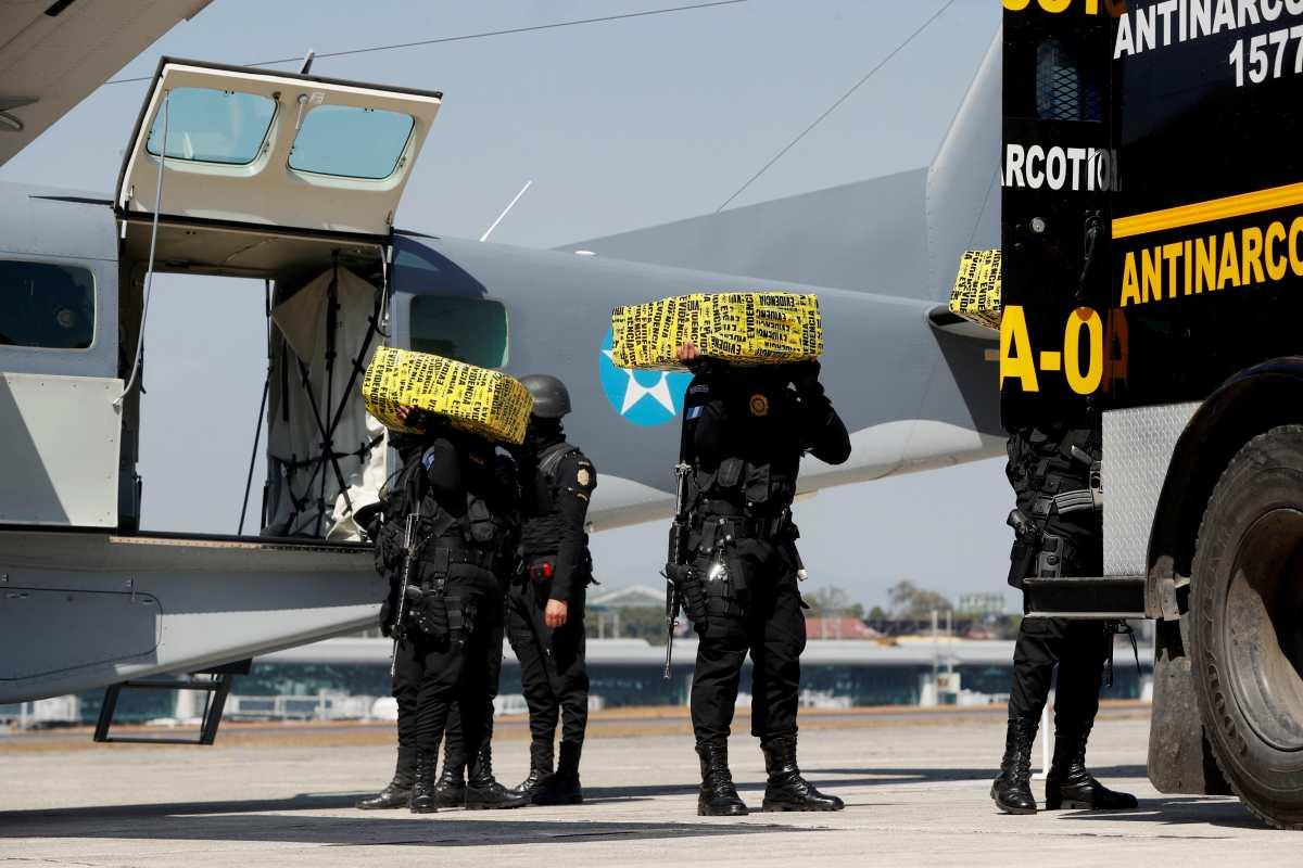 Capturas y extradiciones no reducen el narcotráfico en Guatemala, por donde pasan 9 de cada 10 kilos de cocaína incautados en EE. UU.