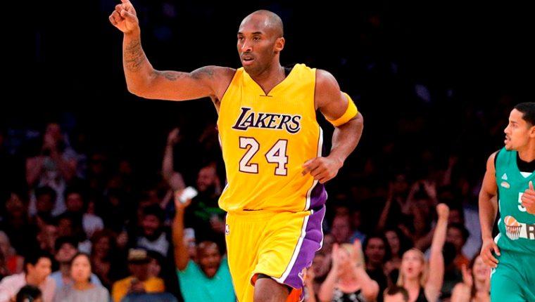 Kobe Bryant, exjugador estadounidense de baloncesto. (Foto: Hemeroteca PL)