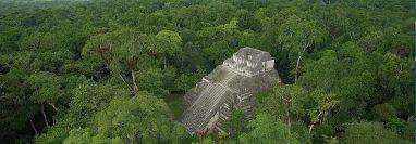 Tikal es uno de los lugares que se podrán observar en el documental. (Foto Prensa Libre: cortesía José Antonio González).