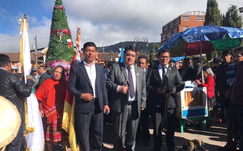Los 48 Cantones de Totonicapán hacen traspaso de autoridades y conmemoran 200 años del levantamiento