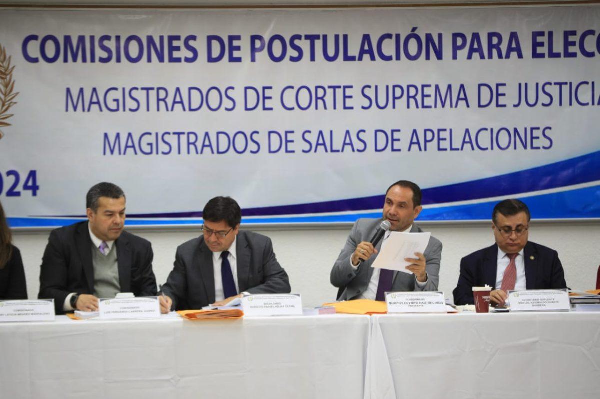 Postuladora de magistrados para la Corte de Apelaciones rechaza señalamientos contra 78 aspirantes
