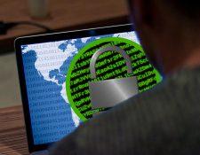 """Los ciberdelincuentes siguen sacando partido del """"ramsomware"""". (Foto Prensa Libre: EFE)"""