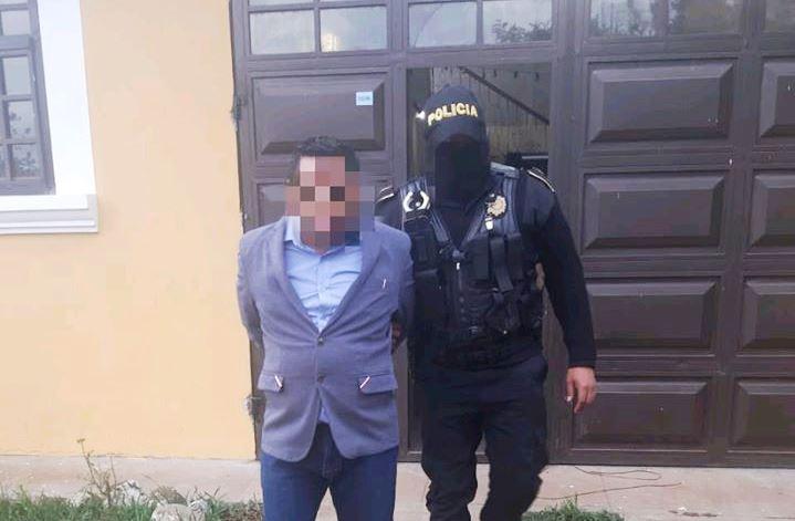 Ángel Ren Guarcas, exalcalde de Chiché, capturado por financiamiento ilícito