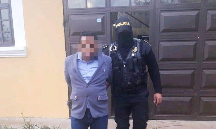 Ángel Ren Guarcas, de 42 años, habría recibido Q50 mil para su campaña en 2015. (Foto Prensa Libre: PNC)