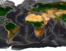 La Tierra es un mosaico de placas tectónicas. SCIENCE PHOTO LIBRARY