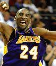 Kobe Bryant era uno de los máximos anotadores en la historia de la NBA.