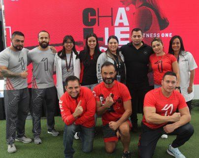 Personal de Fitness One presentó el Challenge 2020. Foto Prensa Libre: Norvin Mendoza
