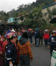 Accidente en Palestina de Los Altos, Quetzaltenango. (Foto Prensa Libre: Bomberos Municipales Departamentales).