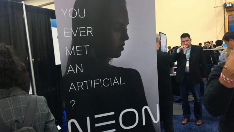 La empresa de tecnología Samsung presentó un avatar digital impulsado por Inteligencia Artificial. (Foto Prensa Libre: AFP)