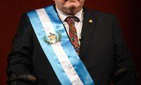 Alejandro Giammattei asumió este 14 de enero como Presidente de la República. (Foto Prensa Libre: AFP)
