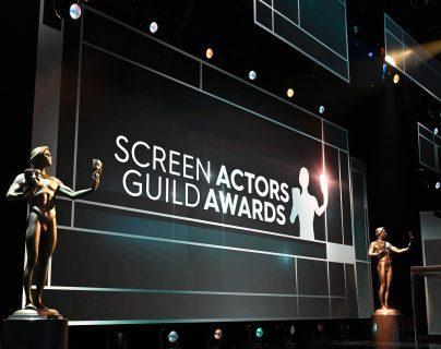 Los premios SAG se entregaron este domingo en Los Ángeles. Foto Prensa Libre: AFP