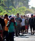 Caravanas de centroamericanos en 2018 y 2019 encendieron las alarmas en Washington. Se teme que la pandemia cause más migración. (Foto Prensa Libre: Hemeroteca PL)