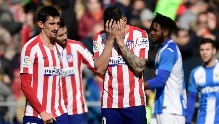 El Atlético de Madrid no puede con el Leganés y extiende su