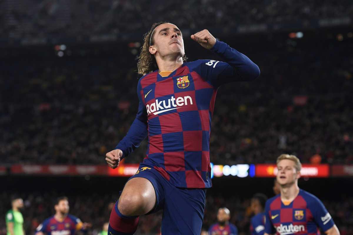 Griezmann asegura que son falsas sus críticas a Messi y al Barcelona