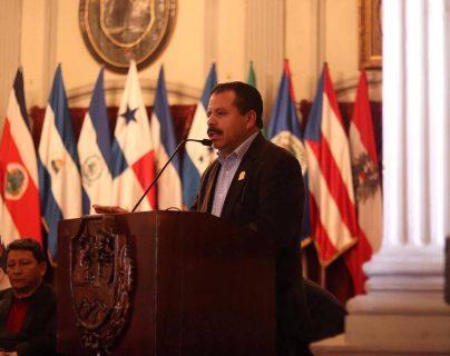 """Alcalde considera que por medio de un mandatario se pueda gestionar """"ayuda"""" para Quetzaltenango. (Foto Prensa Libre: cortesía Municipalidad de Quetzaltenango)"""