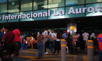 El titular de la DGAC informó que se espera se dos nuevas líneas aéreas lleguen al Aeropuerto La Aurora, y una más amplíe sus vuelos hacia este lugar. (Foto, Prensa Libre: Hemeroteca PL).