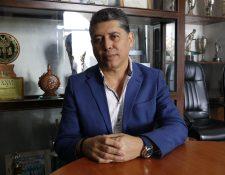 Víctor Hugo del Pozo hizo un recuento de su pasada administración y sus compromisos ante un nuevo gobierno municipal. (Foto Prensa Libre: Julio Sicán)