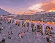 Antigua Guatemala atrajo más de 500 mil visitantes durante la temporada de fin de año en el 2019. (Foto, Prensa Libre: Hemeroteca PL).