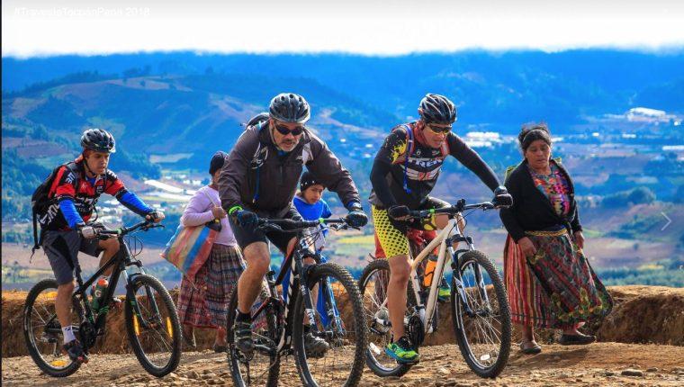 Los participantes de la travesía recorrerán varios kilómetros entre poblaciones y montaña. (Foto Prensa Libre: Cortesía)