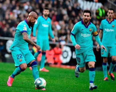 El Barcelona vuelve a la actividad de la Copa del Rey. (Foto Prensa Libre: AFP)