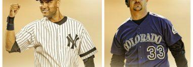 La MLB le dio la bienvenida al Salón de la Fama a Jeter y Walker. (Foto Prensa Libre: Twitter @MLB)