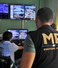 El proyecto de seguridad por medio de cámaras de videovigilancia en Coatepeque, Quetzaltenango, cuenta con el apoyo del Ministerio Público. (Foto Prensa Libre: Alexánder Coyoy)