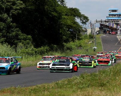 La primera parada del C.A Tour 2020 será en el Autódromo el Jabalí, en El Salvador, en febrero próximo. (Foto Prensa Libre: Carlos Vicente)