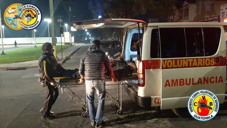 Los bomberos de Quetzaltenango están divididos en los de la base central y los del Campo Escuela. (Foto Prensa Libre: Cortesía)