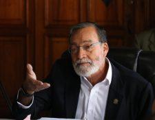 Luis Grijalva Minera perdió la credibilidad de los quetzaltecos por la mala ejecución de proyectos. (Fotos Prensa Libre: Raúl Juárez)