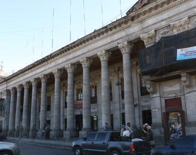 La Municipalidad de Quetzaltenango recibirá a las nuevas autoridades este 15 de enero. (Foto Prensa Libre: Raúl Juárez)